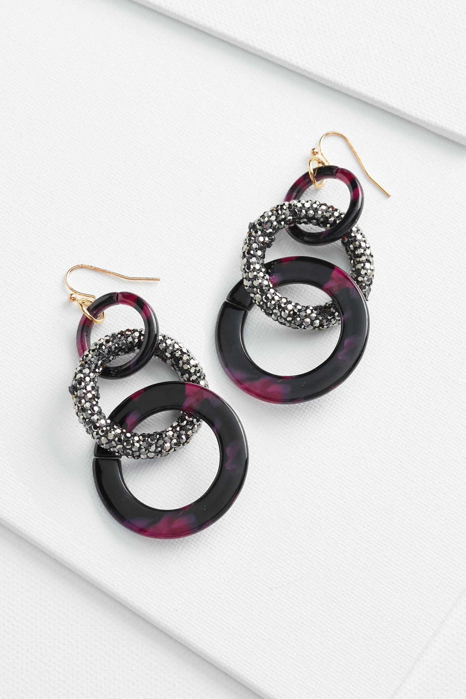 Lucite Bling Earrings