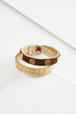 studded wrap bracelet