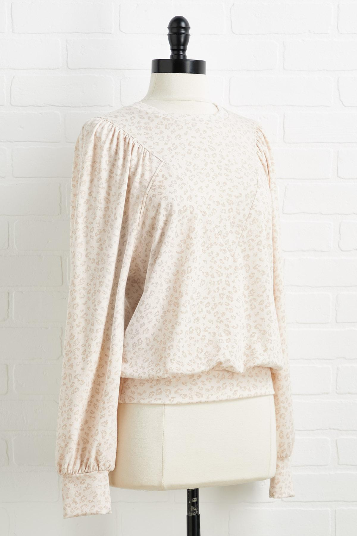 Purrfectly Cozy Top
