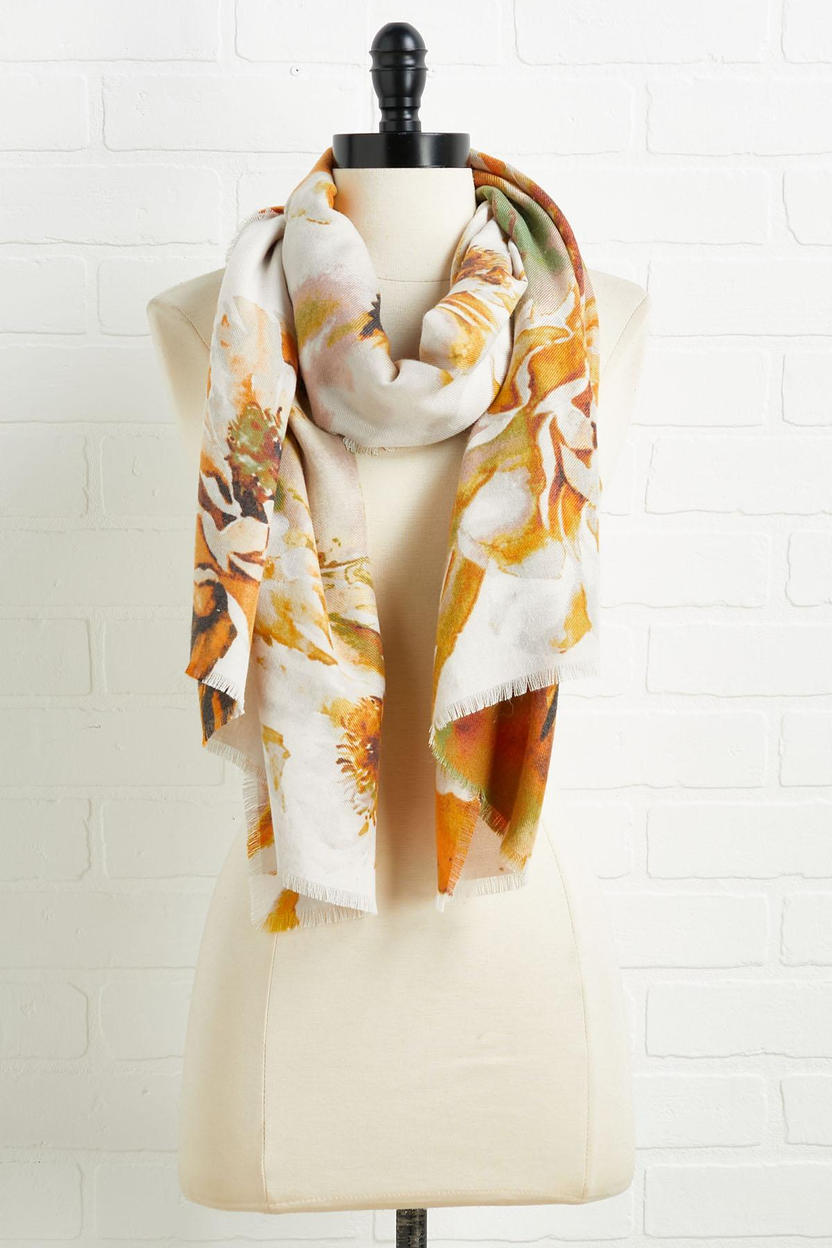 Colors Of Fall Scarf