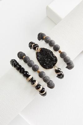 stretch statement bracelet set