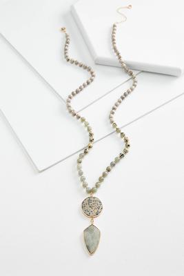 arrowhead beaded necklace