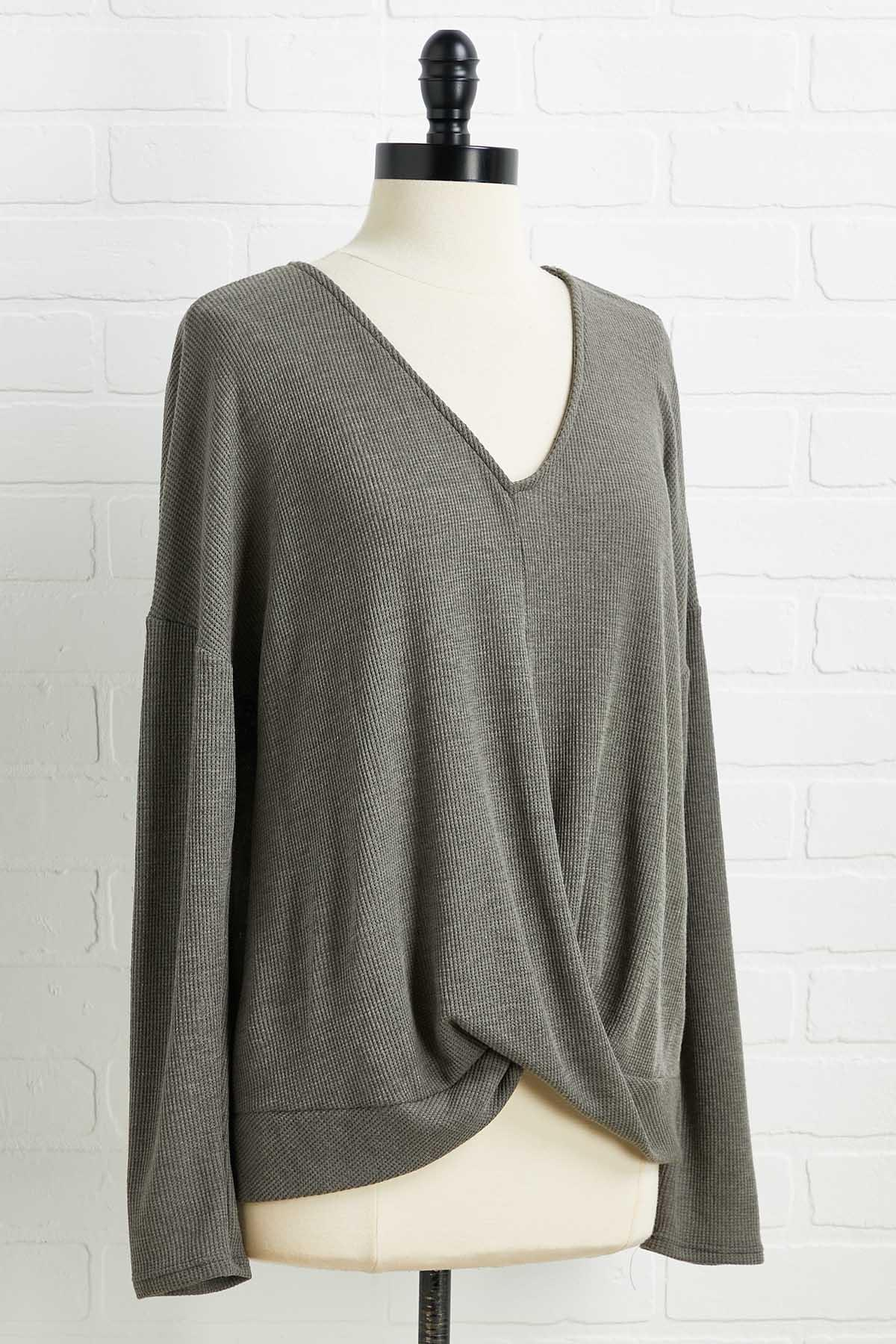 Twisted Truth Top