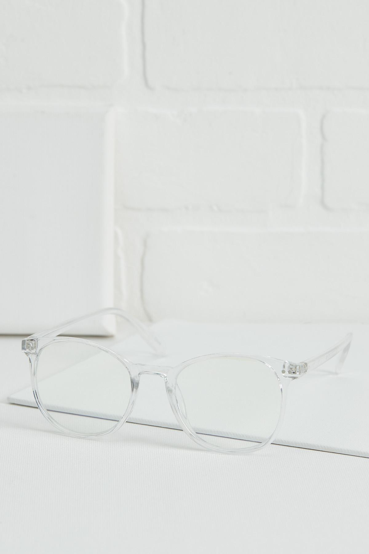 Clear Blue Light Reader Glasses