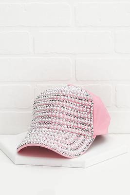 pretty pearl baseball cap
