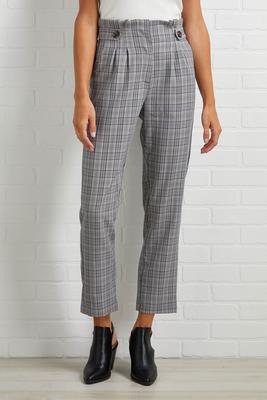plaid season pants