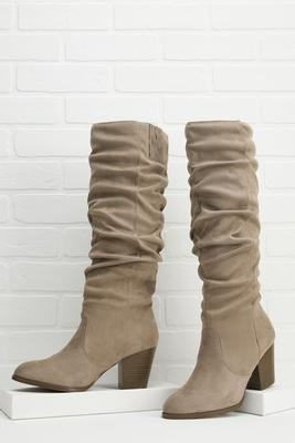 scrunch time boots