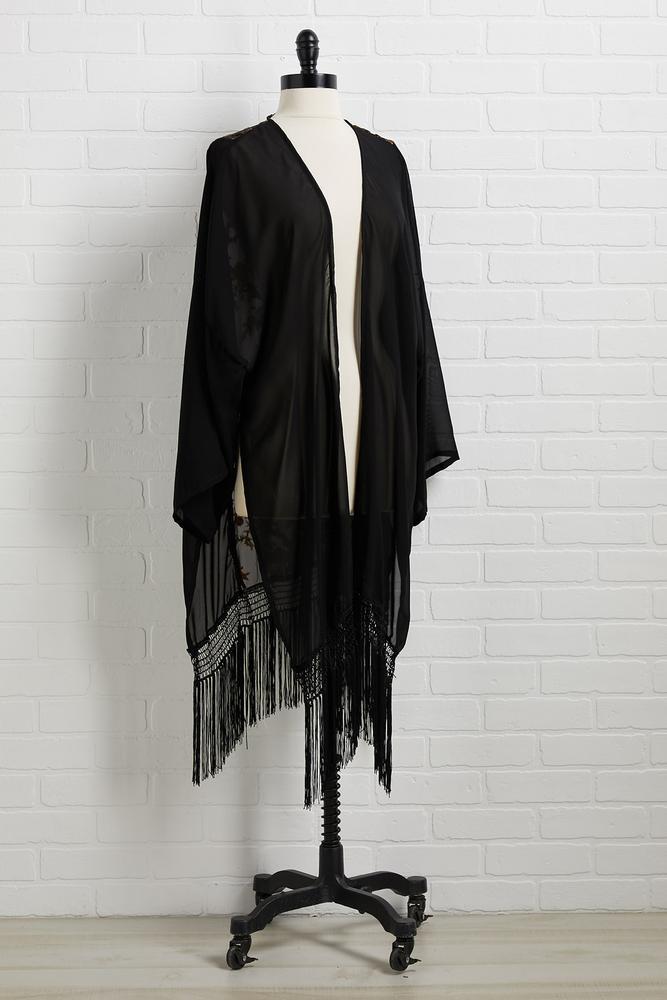 Witch Way Is Right Kimono