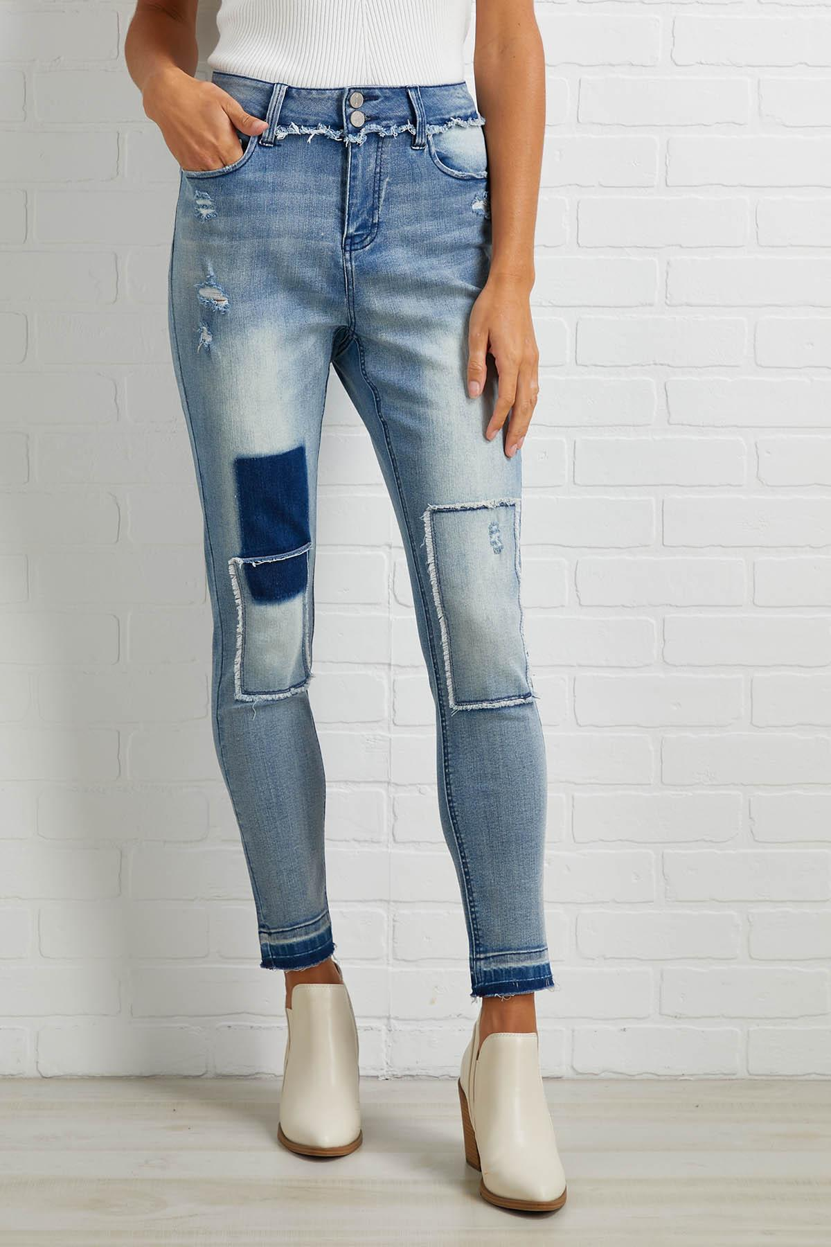 Arts And Patch Jeans