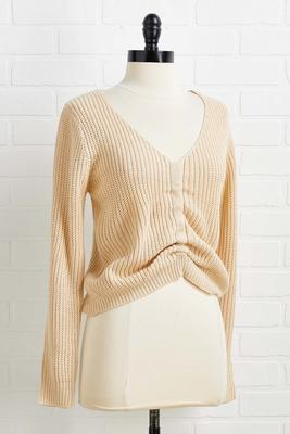 cream in your coffee sweater
