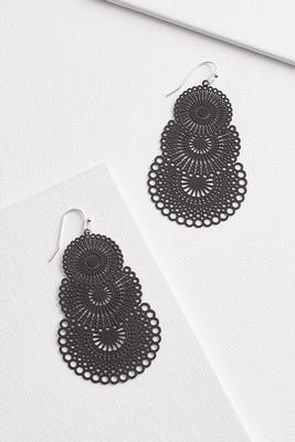 fancy and glam earrings