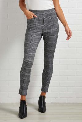 perfectly plaid leggings