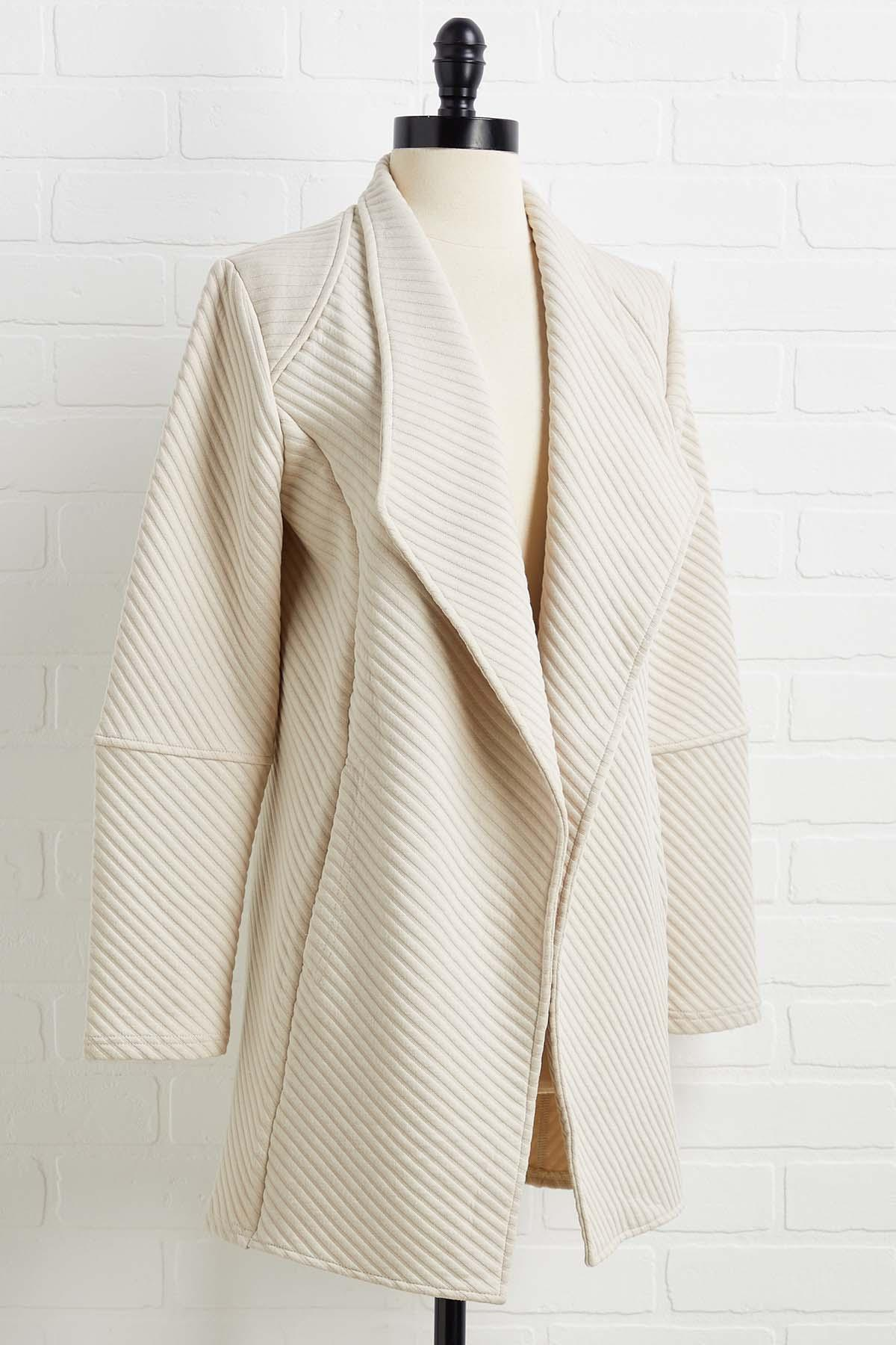 Neutral Touch Jacket