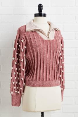 pinky promise sweater