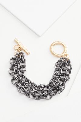 chain toggle bracelet