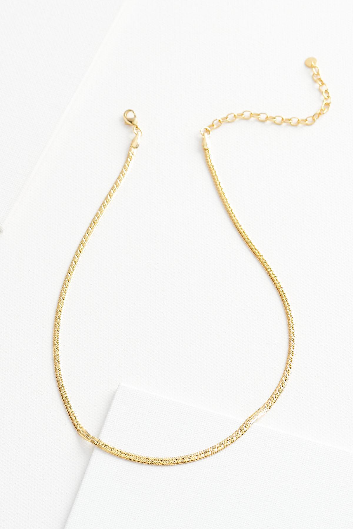 Dainty 18k Necklace