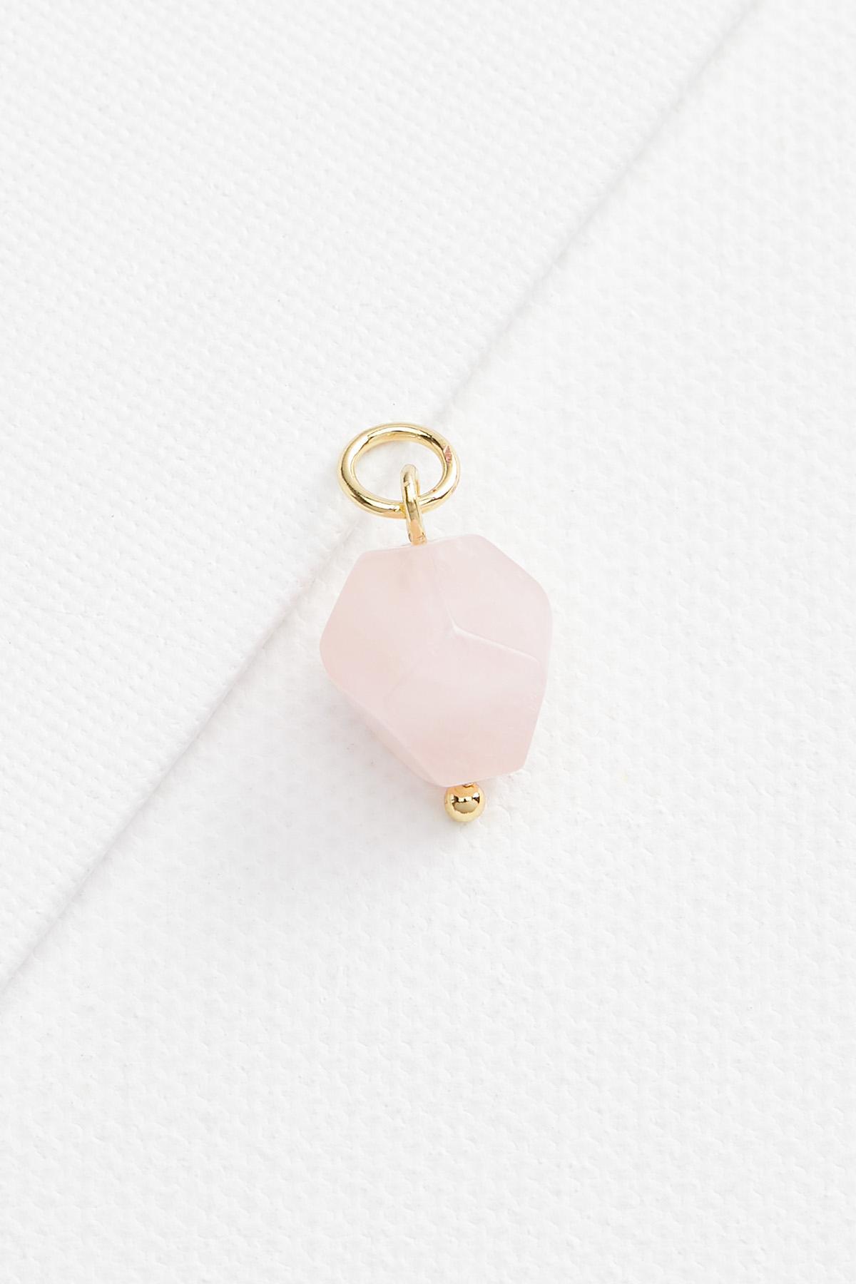 18k Semi Precious Stone Charm