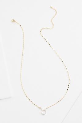18k taurus necklace