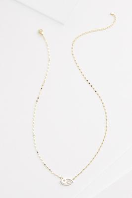 18k cancer necklace