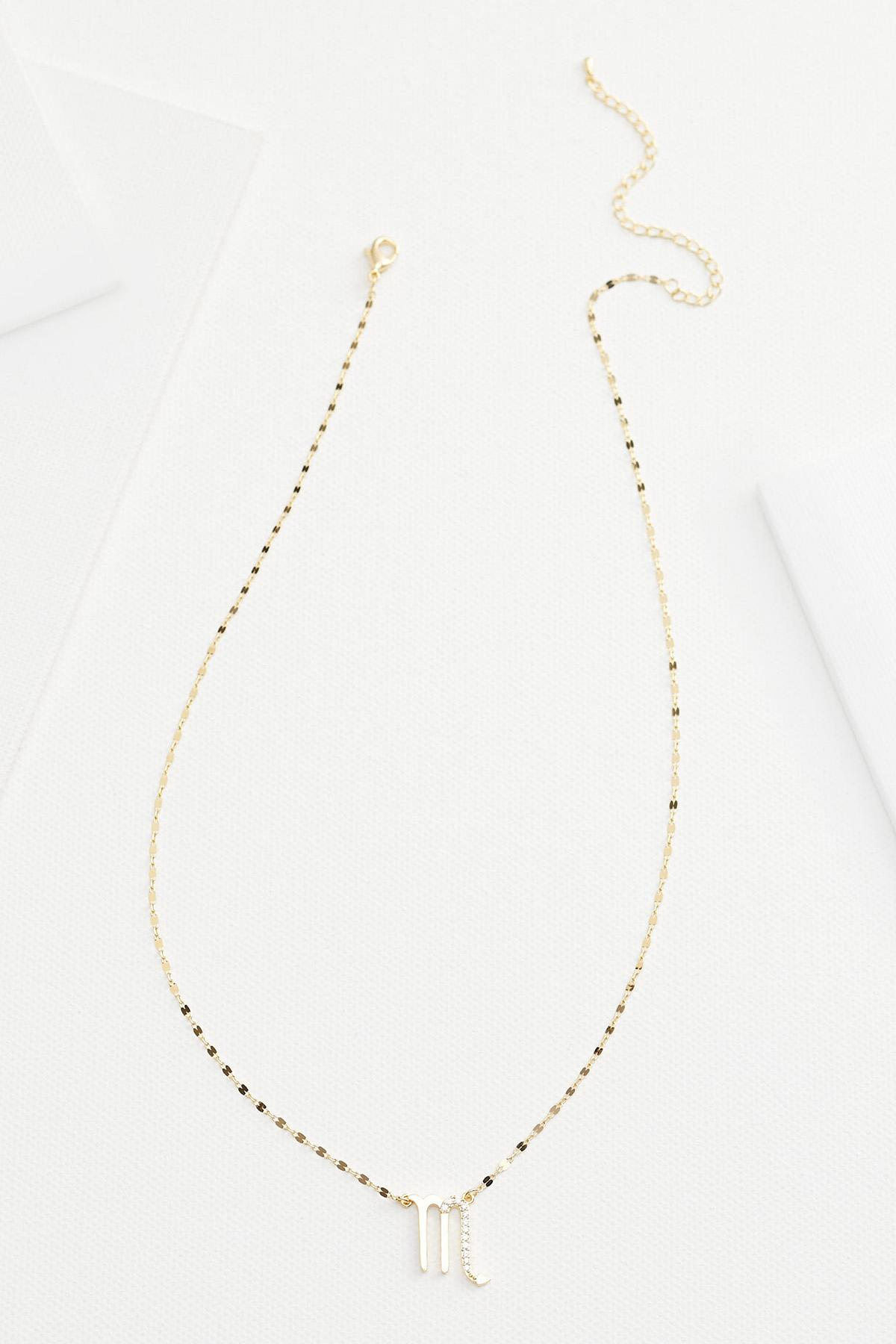 18k Scorpio Necklace
