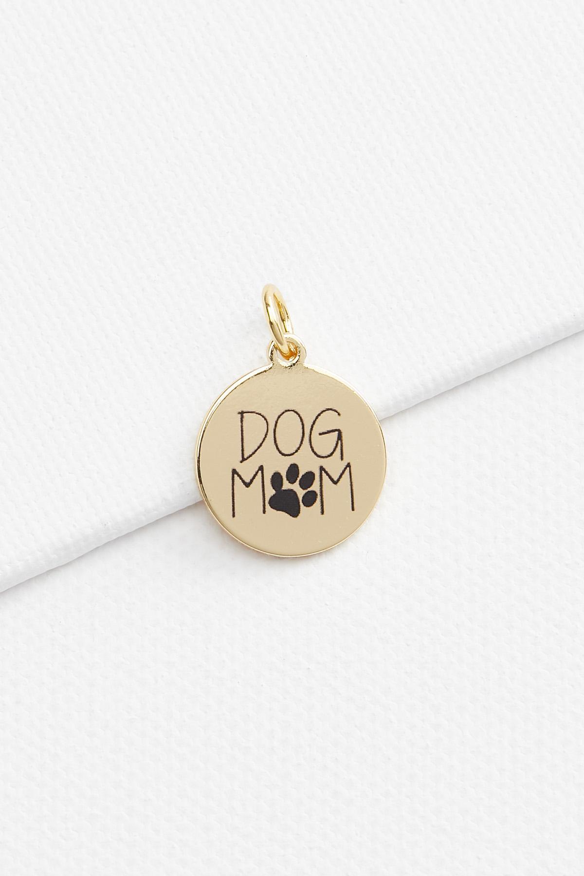 Dog Mom 18k Charm