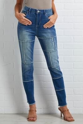 patchwork it girl jeans