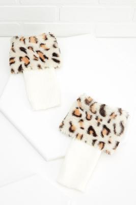 animal boot cuffs