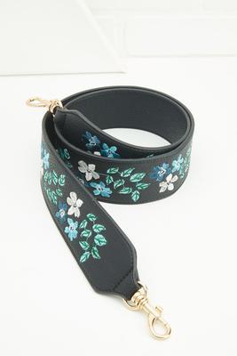 floral guitar bag strap