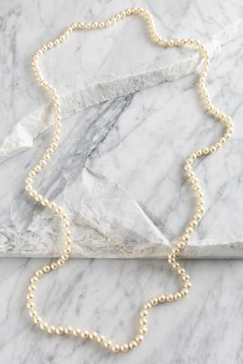 8mm endless pearl necklace