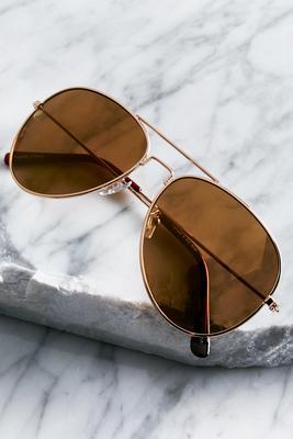 amber aviator sunglasses