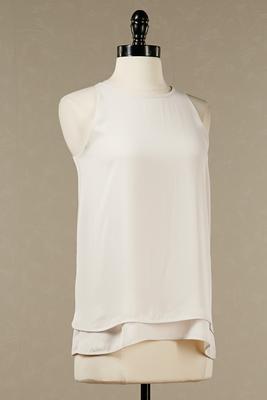 Double layer flutter blouse