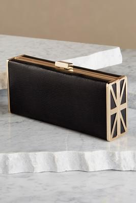 texturized box clutch