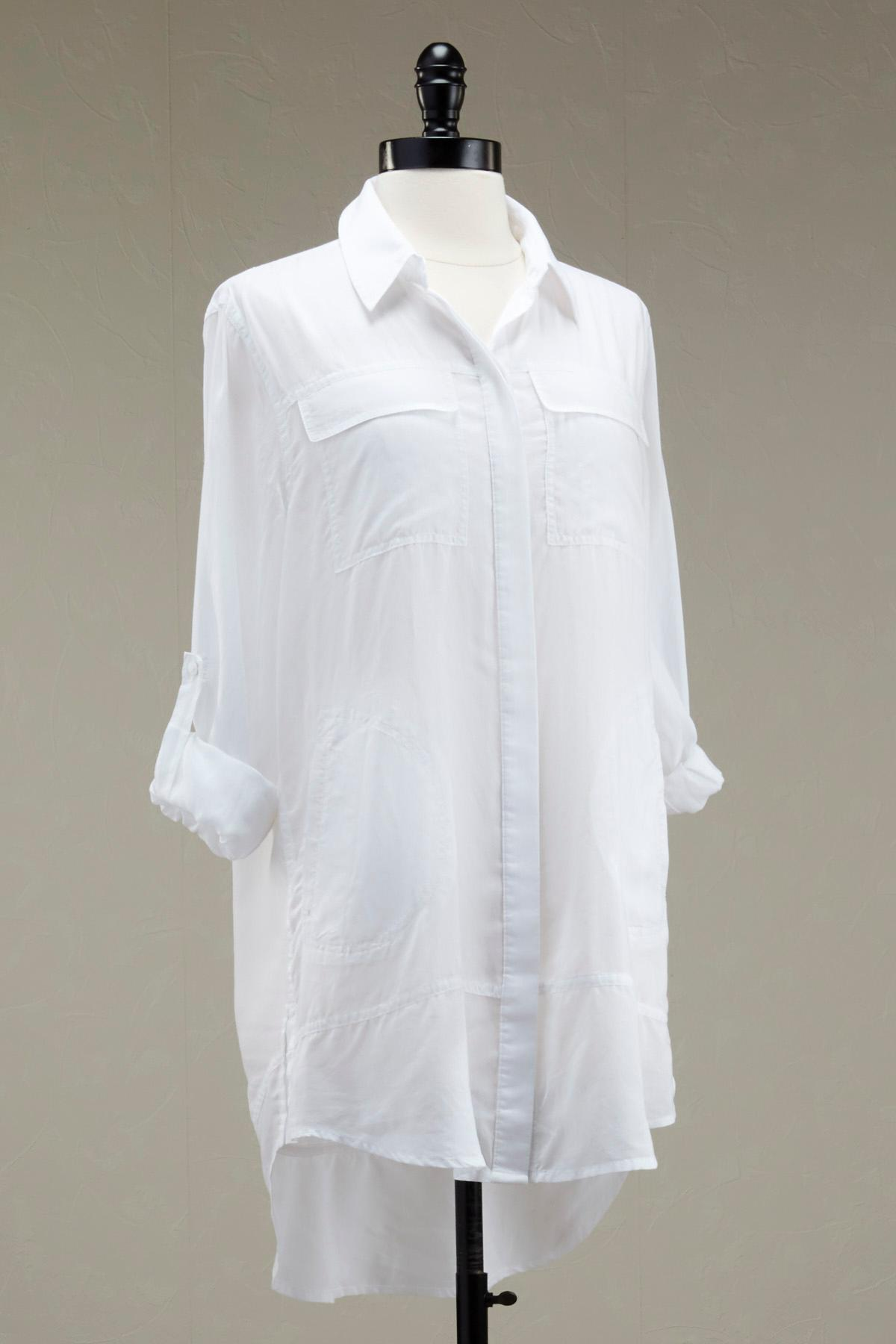 Roll Tab Button Down Shirt