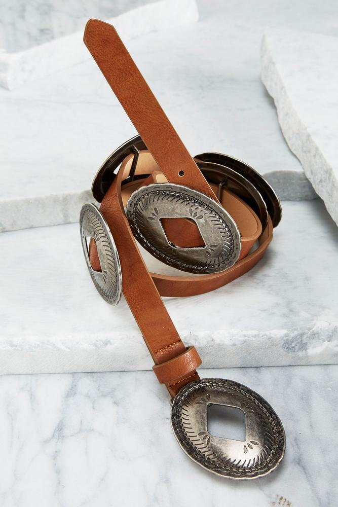 Concho Shell Belt