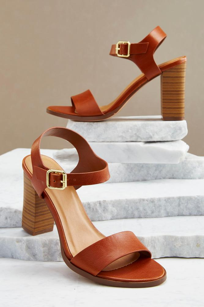 Slingback Block Heels