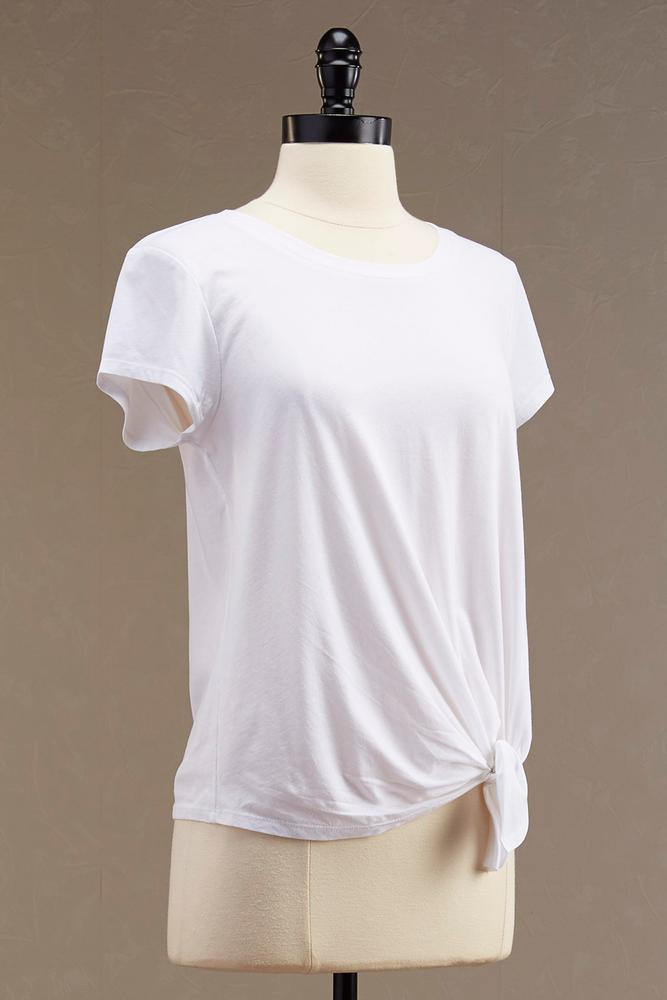 Knotted Side Tee