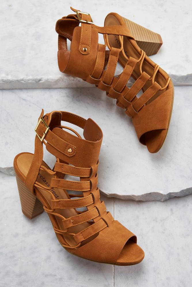 Stretch Strap Caged Shooties