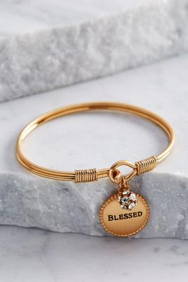 blessed charm bangle