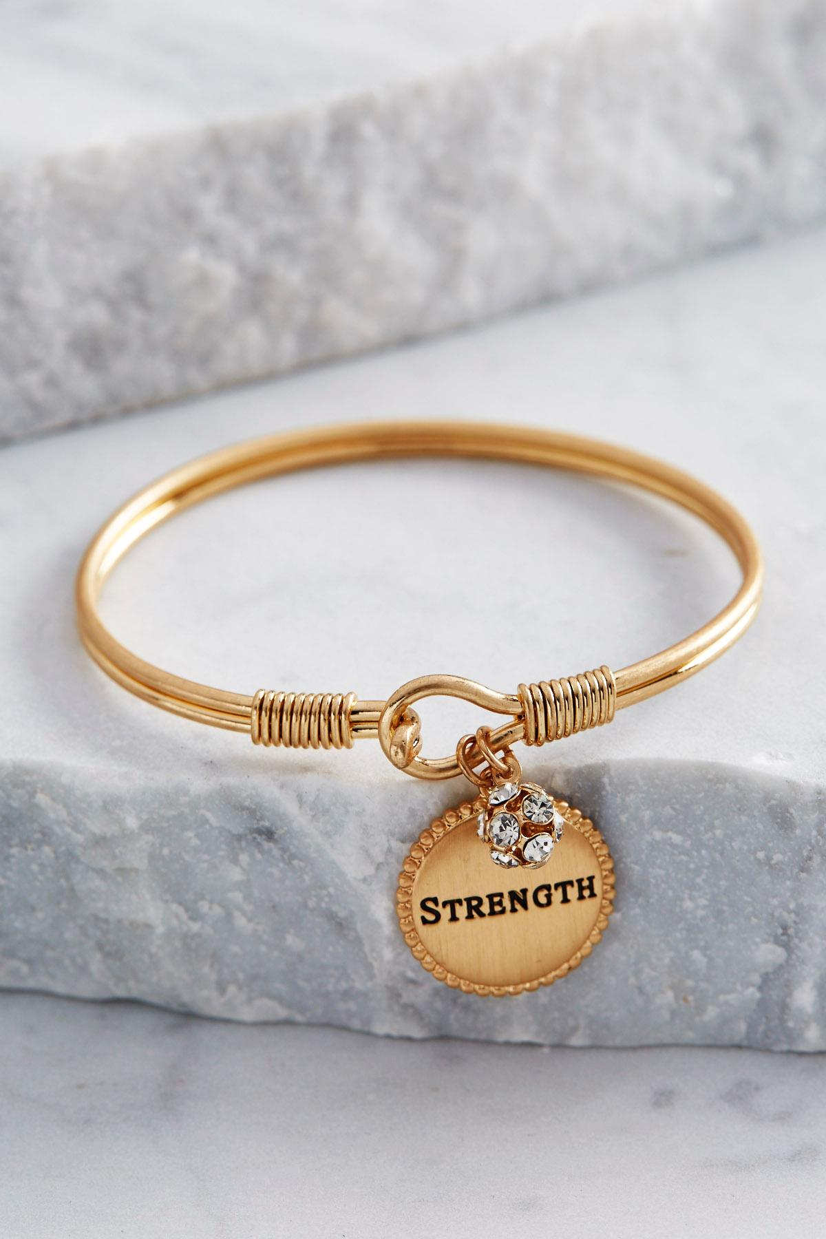 Strength Charmed Bangle