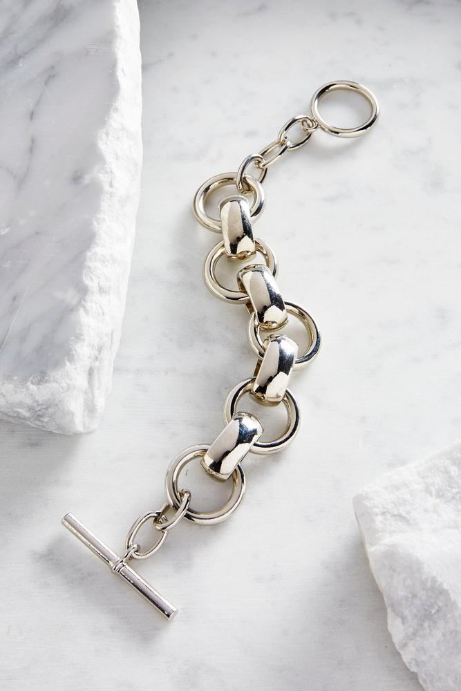 Casted Link Bracelet