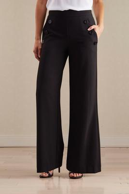 wide leg sailor trousers
