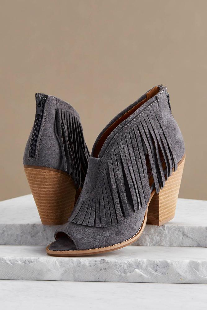 Fringe Cutout Shooties