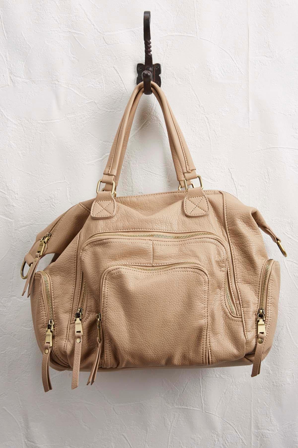 Multi Pocket Hobo Bag