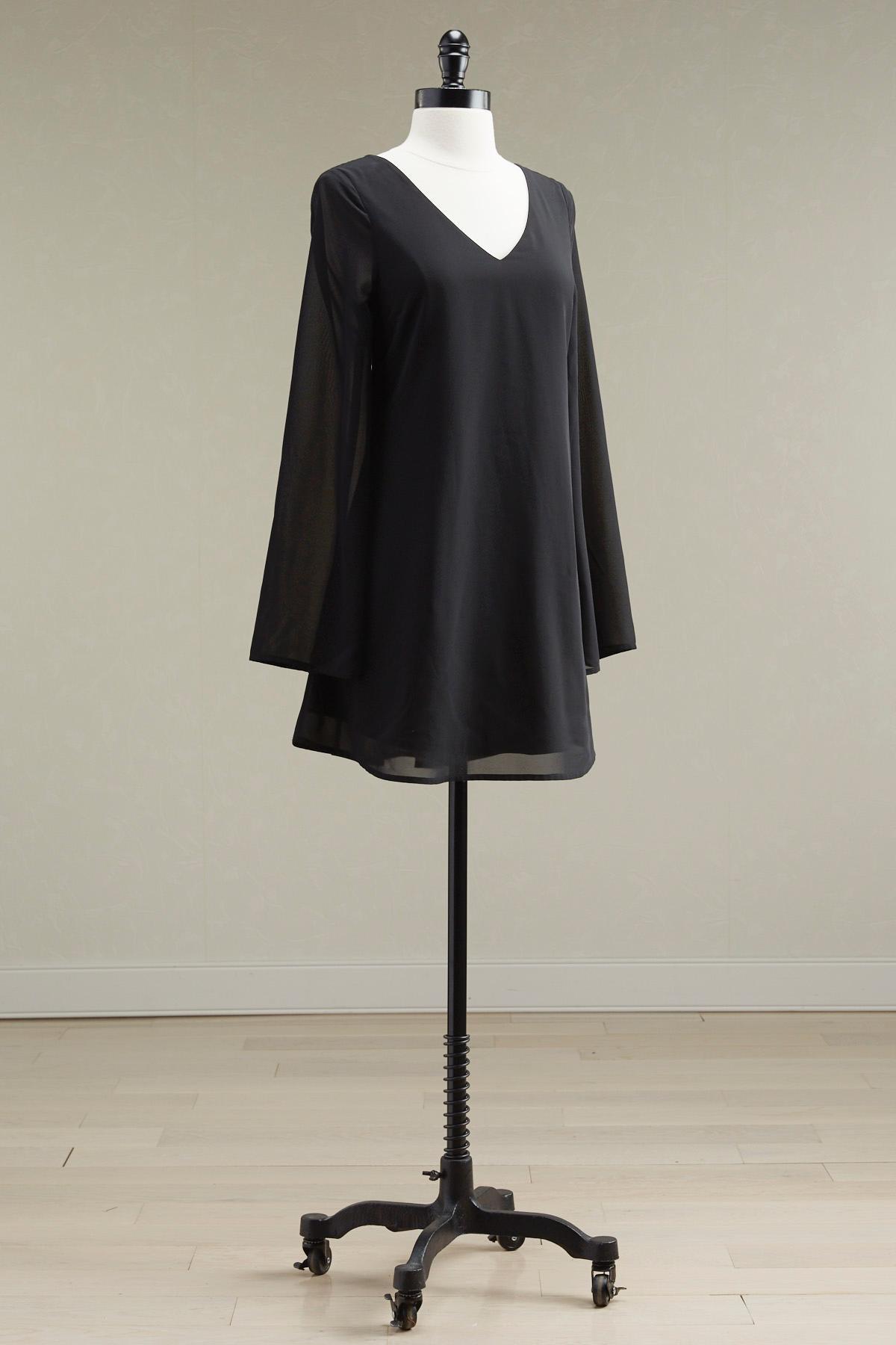 Lattice Back Shift Dress