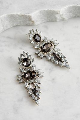 spiky petal statement earrings