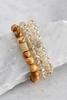 Semi- Precious Bead Stretch Bracelet Set