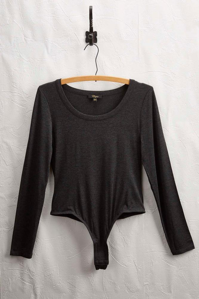 Long Sleeve Knit Bodysuit
