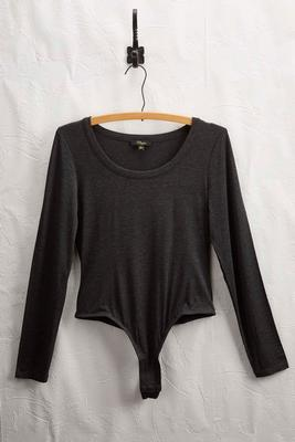 long sleeve knit bodysuit