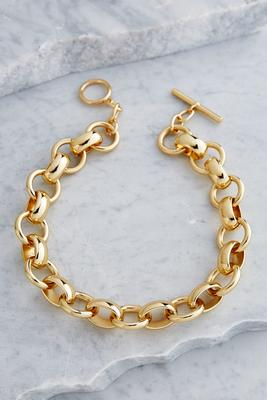 chain link short necklace