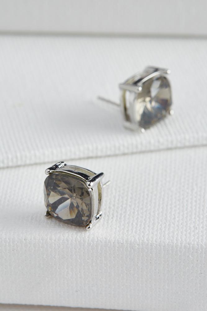 Cushion Cut Stud Earrings